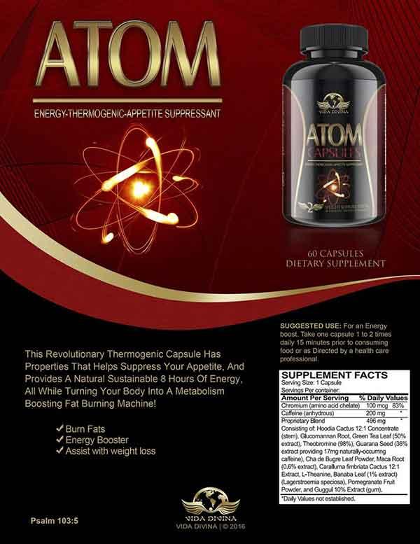 Vida Divina Atom